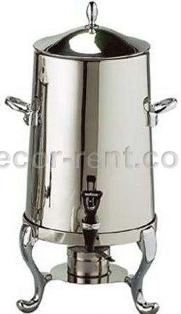 100 Cup Polished Samovar Rental