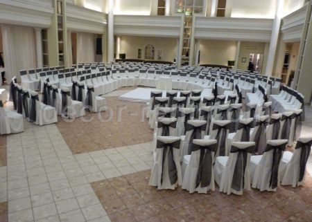 Ivory and Black event at Arcadian Court in Toronto.