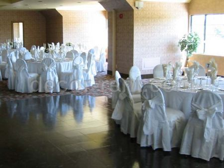 Awaiting. (King Brocade Chair Covers).