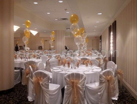 Event Decor White Gold Toronto