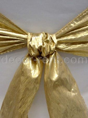 Gold Lame Sash. (By AP CREATIONS).
