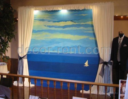 Mobile Murals. Sea View. (By AP CREATIONS).