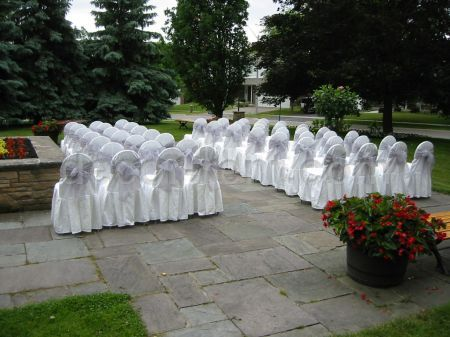 Outdoor Wedding Ceremony. (By AP CREATIONS).