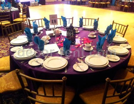 PLUM AND TURQUOISE EVENT. TORONTO.