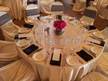 Wedding Decor Guest Table Setting Toronto
