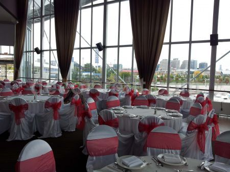 Wedding Decor Toronto Red White Atlantis Pavilions