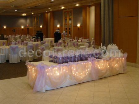 Wedding Entrance Table Decor (By AP CREATIONS).