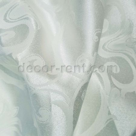 Antique Silver Linen Rental