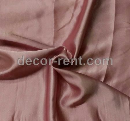 Blush Dusty Rose Satin Table Linen Rental