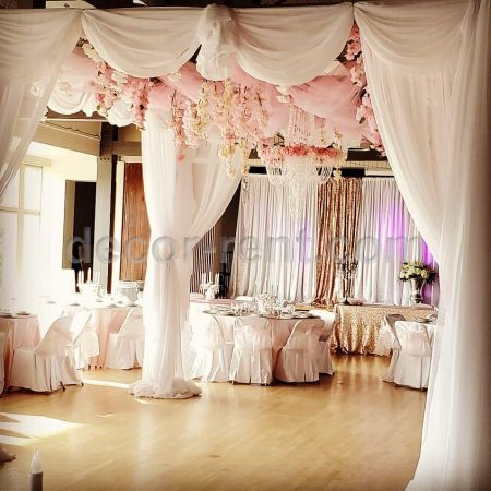 Large Canopy Draping