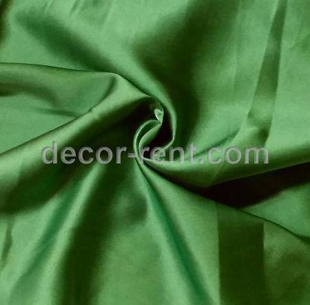Apple Grass Green Satin Linen Rental