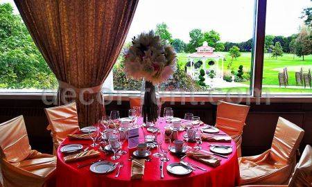 affordable linen rentals and chair cover rental, wedding decor toronto