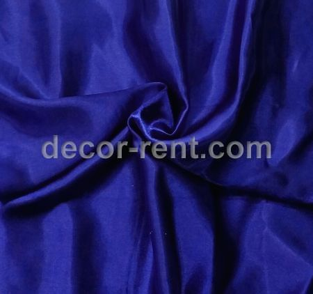 Royal Blue Satin Linen Tablecloth Rental
