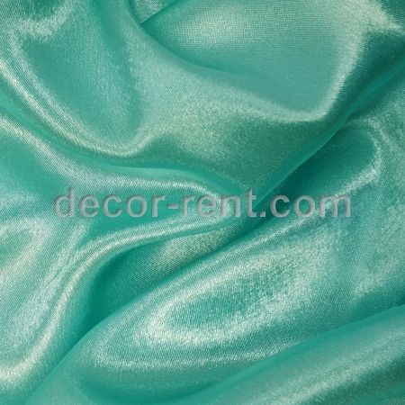 Tiffany Blue Satin Tablecloth Rental